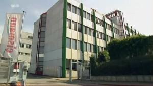 """Die eismann-Zentrale in Mettmann Quelle: WDR-Beitrag """"die story"""" – 1:00"""